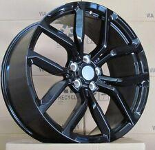 22 Pouces Jantes pour Land Rover Discovery Range Rover Sport 10J (4 Jantes) Noir