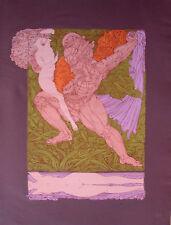 """Ernst  Fuchs """"Samson und Delila"""""""