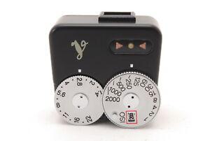 【MINT】 Voigtlander VC Meter Black Shoe Mount Light Exposure Meter from JAPAN