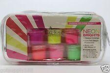 EzFlow Design Colored Acrylic NEON BRIGHTS Powders Color Blast Kit # 59096