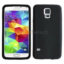 Silicone Soft Slim Rubber Gel Case Cover Skin for Samsung Galaxy S5 GS5 Black