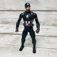 "Hasbro Marvel Legends Civil War Captain America 6"" Action Figure"