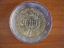 Pièce 2€ ayant circulé : France 2012 10 ans de l'euro