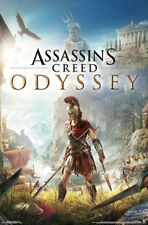 ASSASSIN'S CREED ODYSSEY - KEY ART POSTER - 22x34 VIDEO GAME 17083
