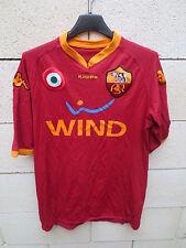 Maillot A.S ROMA Kappa maglia calcio moulant scudetto shirt jersey football XL