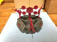 GI JOE ARAH 1988 Cobra Battle Barge- 100% Complete - HASBRO