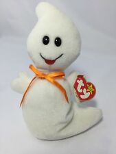 Ty Beanie Baby Spooky Halloween Ghost Retired Beanies Babies 1995 Heart Tag