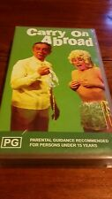 CARRY ON ABROAD - SIDNEY JAMES, KENNETH WILLIAMS - VIDEO  VHS TAPE