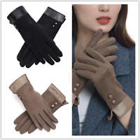 Womens Thick Winter Gloves Warm Windproof Thermal Gloves for Women Girls