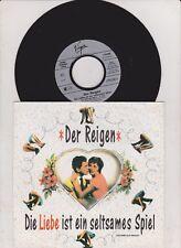 """7"""" DER REIGEN Die Liebe ist ein seltsames Spiel FANCY TESS TEIGES Hip-Hop VIRGIN"""