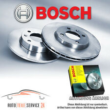 2 Bosch Discos De Freno Traseros Completo Opel Corsa Meriva Zafira A Astra G CC