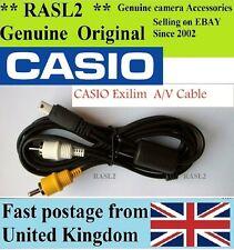 Original CASIO AV cable Exilim EX-Z200 Z250 Z300 Z20 Z77 Z80 Z1080 Z100 EX-FC150