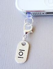 LOL cell phone plug Charm Tag Dust proof ear jack Fits smartphone C146
