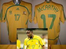 Sud Africa BENNI McCARTHY Adulto Large ADIDAS 2006 SHIRT JERSEY FOOTBALL CALCIO