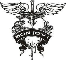 Bon Jovi Vinyl Decal Sticker Music Concert Car Bike