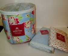 Amy Coe Three Acre Farm Baby Nursery Bedding Set Bumper Ruffle Crib Sheet New