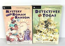 Mystery of the Roman Ransom & Detectives in Togas by Henry Winterfeld 2A