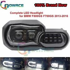 Black Assembly Hi/Lo LED Headlight Complete for BMW F800GS F700GS 2013-2016 ADV