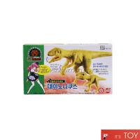 Dino Mecard Double Figure Set Pachyrhinosaurus and Tinysour Pachyrhino