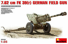 Miniart 35104 1/35 7.62cm FK 39 (R) Modelo Kit pistola de campo alemán