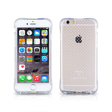 iDefend Apple iPhone 6S Aircushion Clear Gel Case Cover + Screen Protector