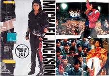 Michael Jackson Programme BAD WORLD TOUR Program 1988