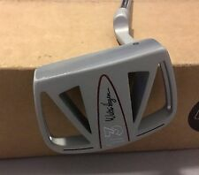 "Walter Hagen T3 Clam Cage 35"" Mallet Putter Steel Golf Club"