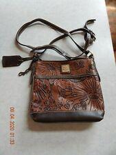 1975 DOONEY & BOURKE DISNEY MICKY MOUSE Canvas / Leather Mini Bag