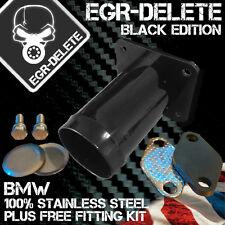 BMW E46 318d 320d 330d 330xd 320cd 318td 320td EGR Removal Kit d'obturation Noir