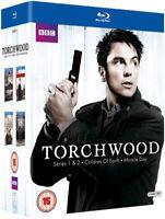 Torchwood Serie 1 A 4 Collezione Completa Blu-Ray Nuovo (BBCBD0183)