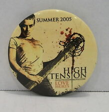 HIGH TENSION Pinback Button French Horror Movie