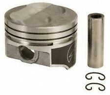 Speed Pro Chevy 327ci Forged +5.3cc Dome Coated Pistons Set/8 L79/350HP STD
