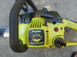 """POULAN 1950 CHAINSAW with NEW 42CC ENGINE, 14"""", REFURBISHED, STRONG RUNNER"""