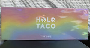 SOLD OUT Holo Taco Pastel Rainbow Collection,  Limited Edition Box