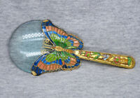 Beautiful Vintage Cloisonne Butterfly Magnifying Glass