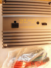 New 25/50 Watt STEREO Audio POWER AMPLIFIER Crossover Subwoofer Tweeter 12VDC