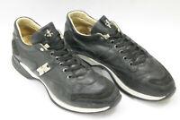 CESARE PACIOTTI men shoes sz 5 Europe 39 black leather S7487