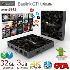 Beelink GT1 Ultimate Android 7.1 Smart TV Box S-912 3GB+32GB 2.4G 5.8G 2*WIFI BT