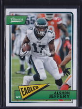 2018 PANINI CLASSICS ALSHON JEFFERY #75 EAGLES BEARS GAMECOCKS