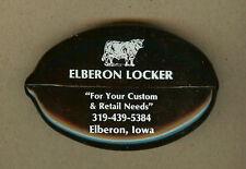 Vintage Elberon,Iowa IA Meat Locker,Cattle,Hog Butchering, Squeeze Coin Purse