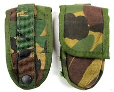 GENUINE DUTCH ARMY BELT POUCH in WOODLAND CAMO FOR POCKET KNIFE