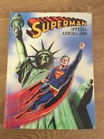 Superman Annual - 1984 - Hardback - London Editions Magazines