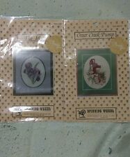 Cross Stitch Charts Otter Creek Pump and The Iris by Spinning Wheel