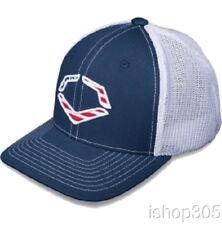 41e2c8be4e942 EvoShield Flex Fit USA Logo Trucker Hat Baseball Cap Navy White 1035320.410