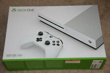 Microsoft Xbox One One S 500GB White Video Gaming Console - ZQ9-00001 Brand Neww