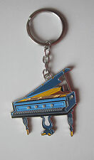 Grand Piano Key Ring Keyring Music Gift Present Fob Pianist