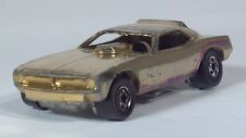"Hot Wheels Funny Car Cuda Hemi Hauler 3"" Die Cast Scale Model Gold"