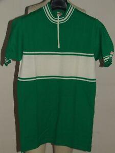 Shirt Bike Shirt Maillot Cycling Heroic Vintage 70'S MARUZ Acrylic Paint