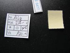(E6477) DR Nr.163y** seltene Gummiriffelung Kat.350.-€