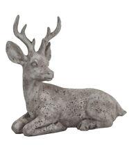 Hirsch Rentier Reh Bock Elch Deko Garten Tier Figur Skulptur Statue Gartendeko